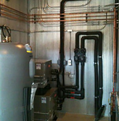 Bryant split system geothermal units at Caesars Creek Winery in Xenia OH