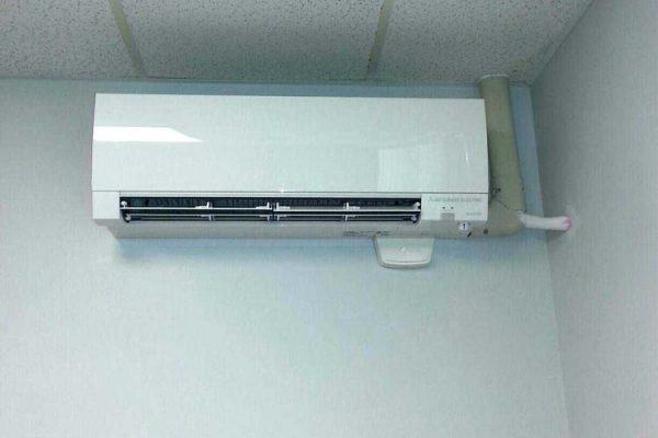 Mitsubishi ductless wall mount fan coil in Xenia OH