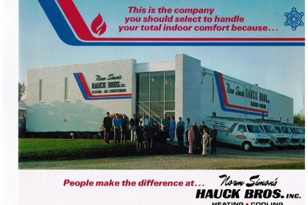hauck bros., inc post card