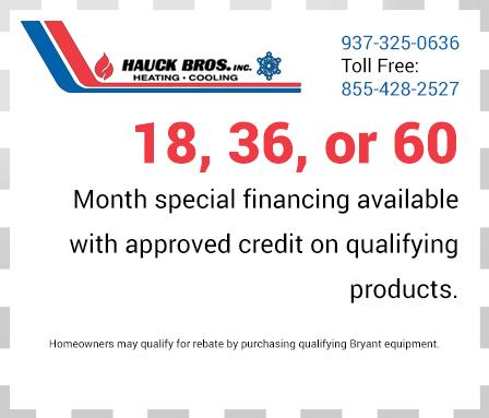 financing options coupon