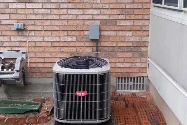Bryant Air Conditioner Installation