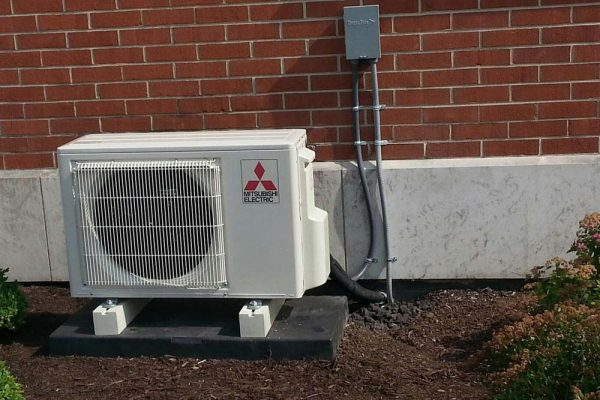 Ductless Heat Pump Unit