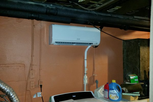 Mini Split Ductless Inside Unit