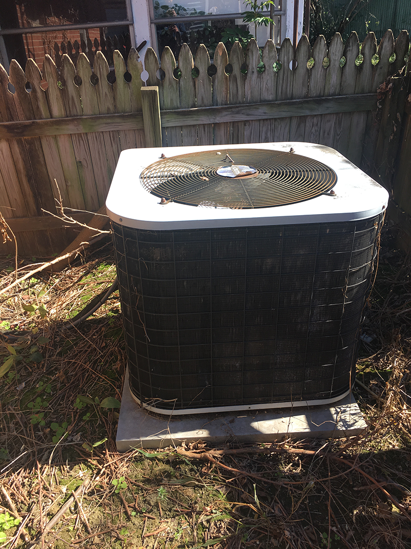 Air conditioner before