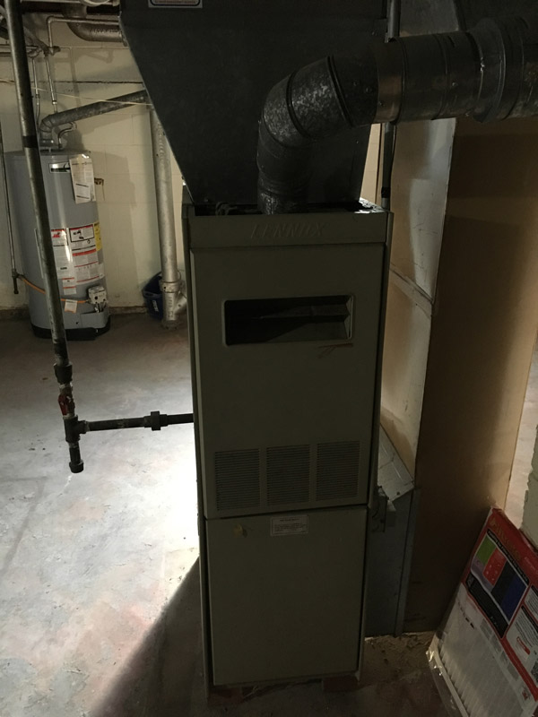 Gas Furnace Old
