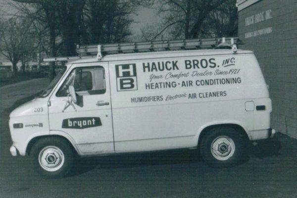 Hauck Service Van