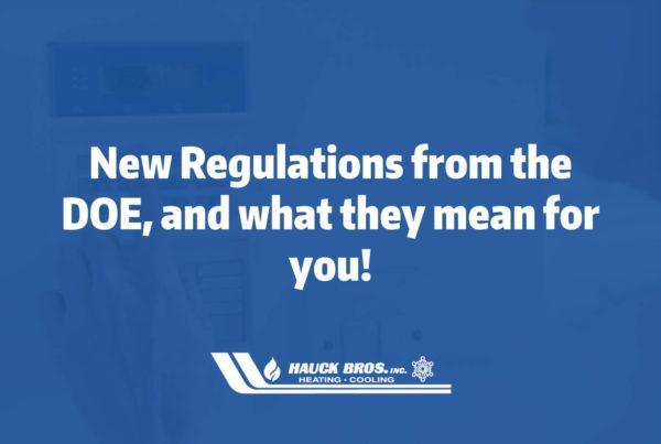 department of energy regulartions