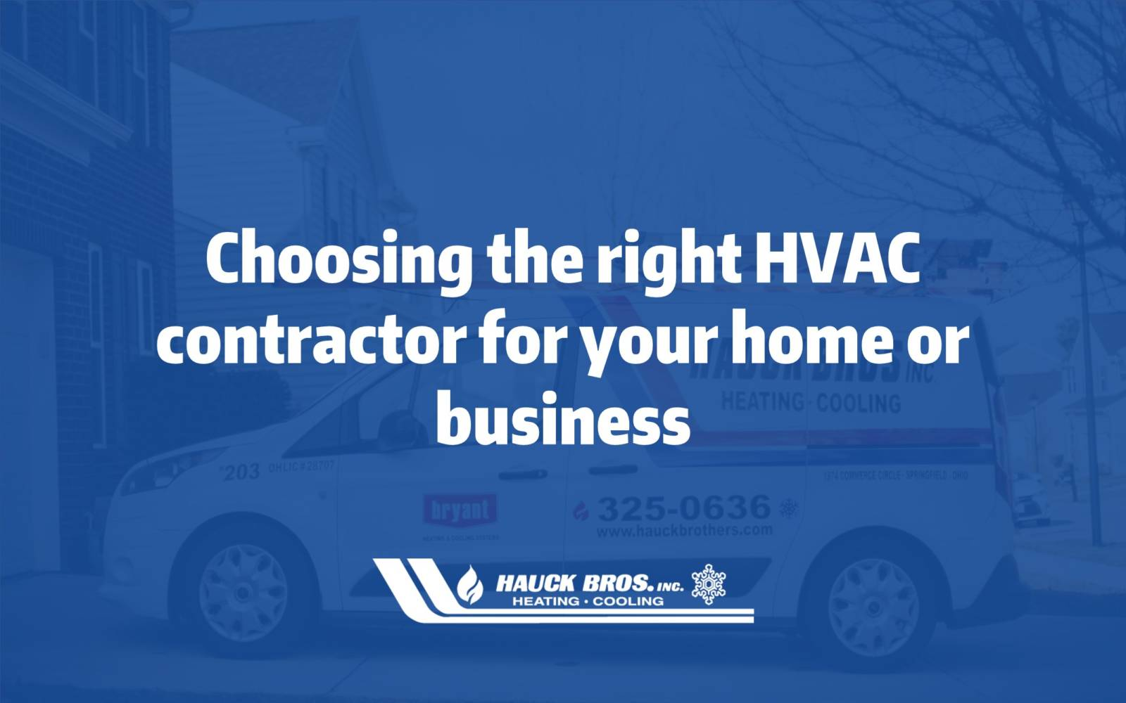 Choosing right HVAC contractor